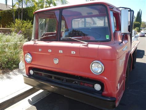 Vintage 1961 Ford C 550 COE Catalina Beverage Co. for sale