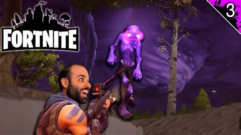 limpieza de campamentos zombie fortnite gameplay