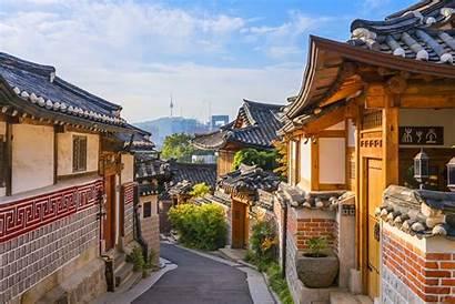 Hanok Village Korea Bukchon Yang Selatan Negara