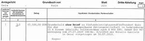 Abteilung 2 Grundbuch : grundbuch perfect grundbuch with grundbuch fabulous was sich alles noch im grundbuch gendert ~ Frokenaadalensverden.com Haus und Dekorationen