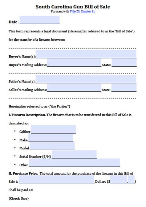 harris county texas bill  sale form  word