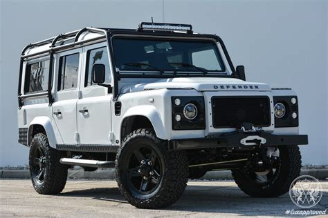 custom land rover east coast defender project alpine is the custom land