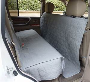 Suv truck car back seat cover for dogs and cats quilted for Dog seat covers for trucks