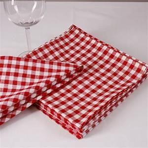 Rot Karierte Vorhänge : stoff serviette 40x40 karo rot kaufen hans textil ~ Markanthonyermac.com Haus und Dekorationen