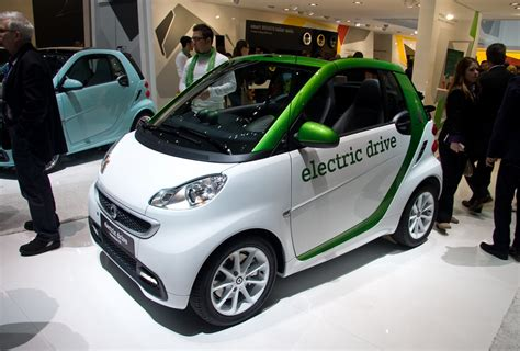 Sport Cars: Smart Fortwo Electric Drive Hd Wallpapers 2012