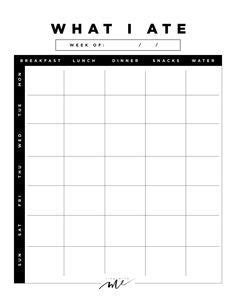 trim healthy mama weekly food log template get fit and feel great with this take a look http