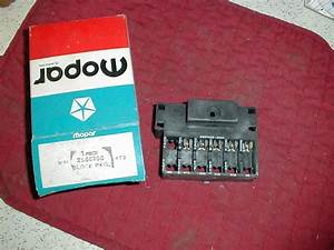 Nos Mopar Fuse Block 1966 C Body 1968