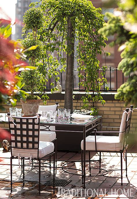 Ralph Ruccis Serene Rooftop Refuge by Ralph Rucci S Serene Rooftop Refuge Traditional Home