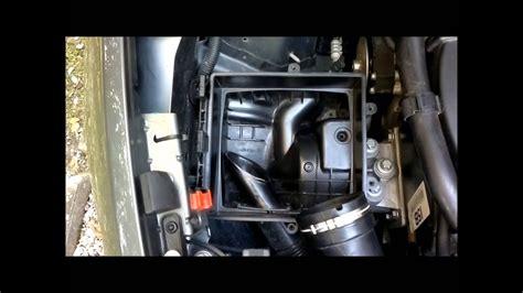 tutorial smontare il filtro dellaria nei motori turbo