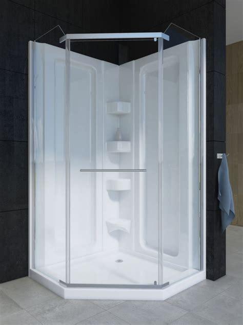 Shower Stall Kits Canada by Mirolin Sorrento 38 Inch 1 Piece Acrylic Shower Stall