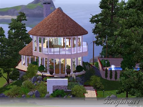 mod sims boho eco friendly house home plans blueprints