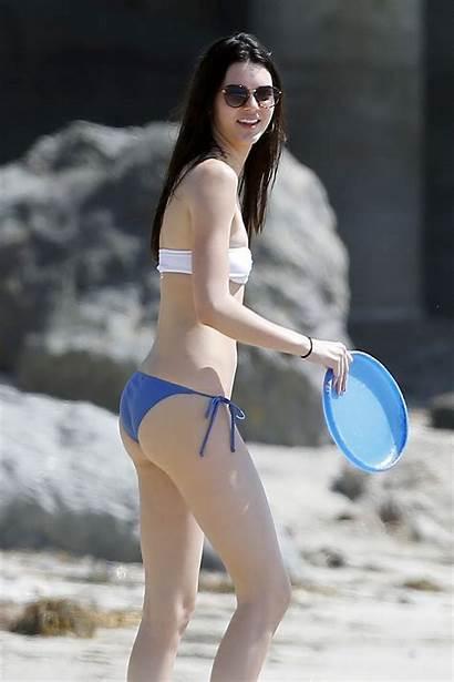 Jenner Kendall Bikini Beach Malibu Angeles Los