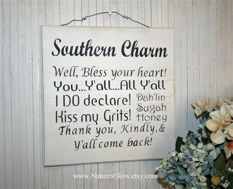 southern charm phrases southern sayings sign southern charm southern phrases