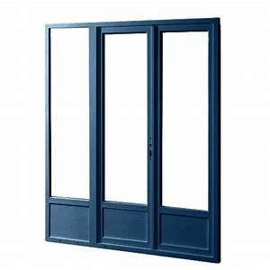 porte fenetre double vitrage aix fabricant alu vente With porte de garage enroulable et porte de salon double