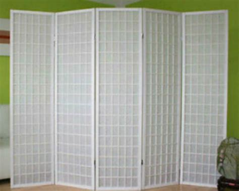 White Window Shoji Room Divider Screen-panel