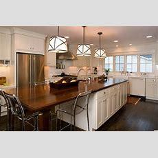 Long Kitchen Island  Transitional  Kitchen  Twin Companies