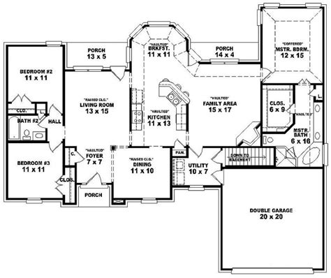5 bedroom house plans with basement stunning ideas 5 bedroom house plans with basement 2