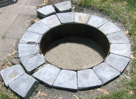 New Steel Insert For Ring Fire Pit Aspen Industries Gas