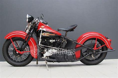 Harley-davidson El Knucklehead Motorcycle Auctions
