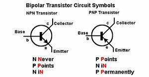 How To Construct A Switch Using A Transistor  Draw The