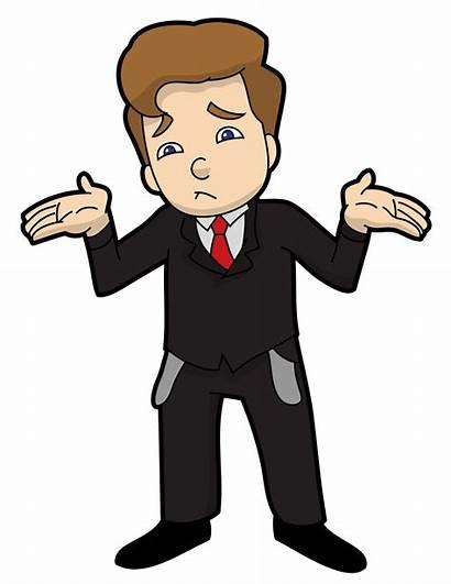 Cartoon Businessman Wikimedia Bankrupt Commons Money Vectortoons