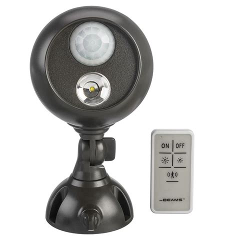 battery operated led lights with remote mr beams mb371 remote controlled battery powered motion