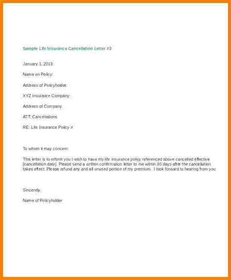 fitness membership sales cover letter cancellation letter of intent insurance cancellation