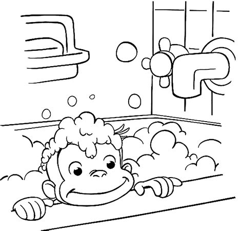 Curious George Coloring Pages Bestofcoloringcom