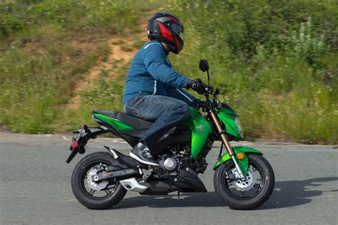 Kawasaki Z125 Pro Image by Kawasaki Z125 Review Motorcycle Image Ideas