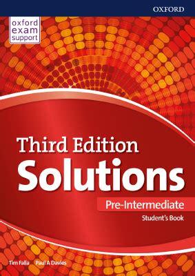 solutions pre intermediate students book  vse dlya