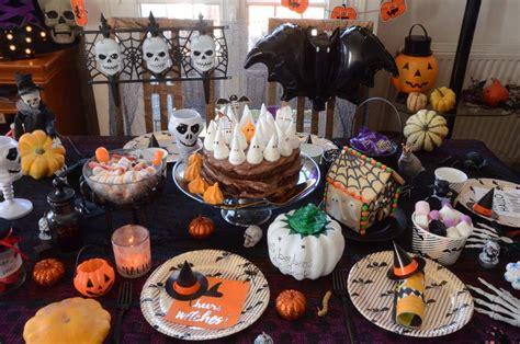 idees de decoration  de recettes pour halloween