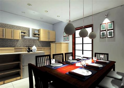 gambar model lampu gantung ruang makan