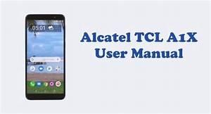 Alcatel Tcl A1x  A503dl  User Manual