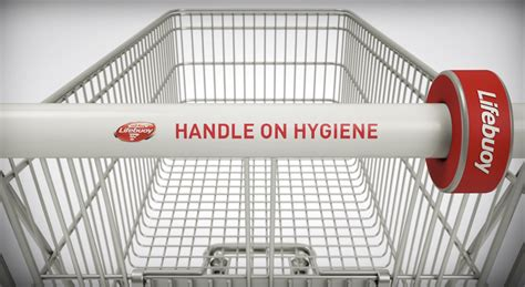 Device Sanitizes Shopping Cart Handles In Between Uses