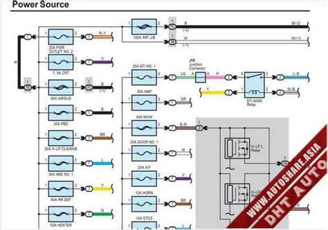 Lexus Wiring Diagram Toyota Workshop Manual