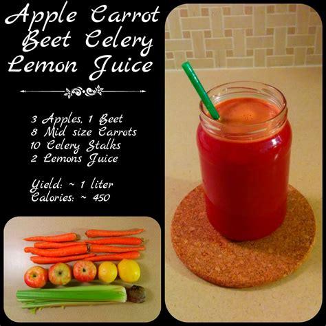 juice carrot celery beet apple eat lemon easily raw