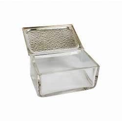 Glasdose Mit Deckel : glasdose mit deckel im hammerschlagdekor ~ Markanthonyermac.com Haus und Dekorationen