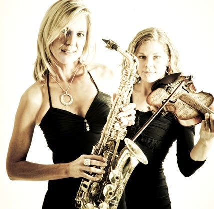 intrique saxophone  violin duo johannesburg bookings