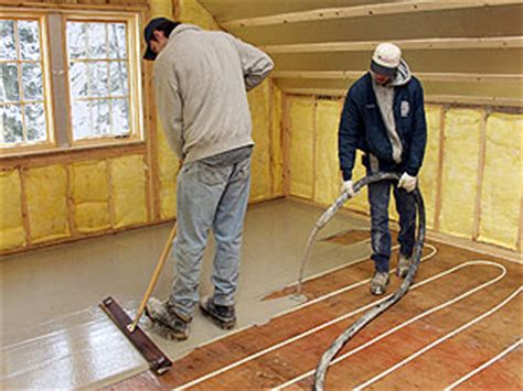 Pex Radiant Floor Heating In Concrete by Gas Boiler Heated Floor System Redflagdeals Forums