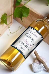custom wine bottle labels personalized wedding favors With custom printed wine bottle labels