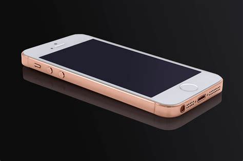iphone pink gold iphone 5s in white finished in 24k pink gold