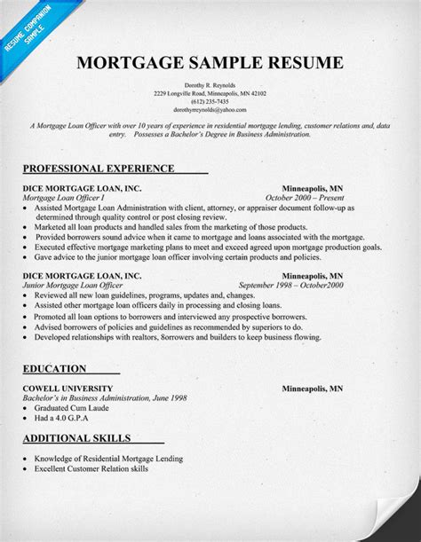 Mortgage Resume by Claims Adjuster Resume Sainde Org Processor Resume Resume Cv Cover Letter Document Processor