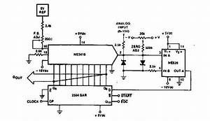 Simple A  D Converter Circuit With 2504 - A-d Converter