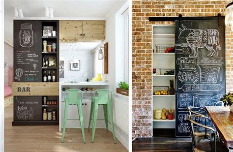cuisine ardoise design la fabrique à déco décorer sa cuisine façon bistrot