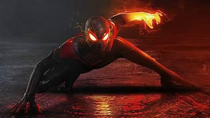 4k Spiderman Artwork Morales Miles Ps5 Wallpapers