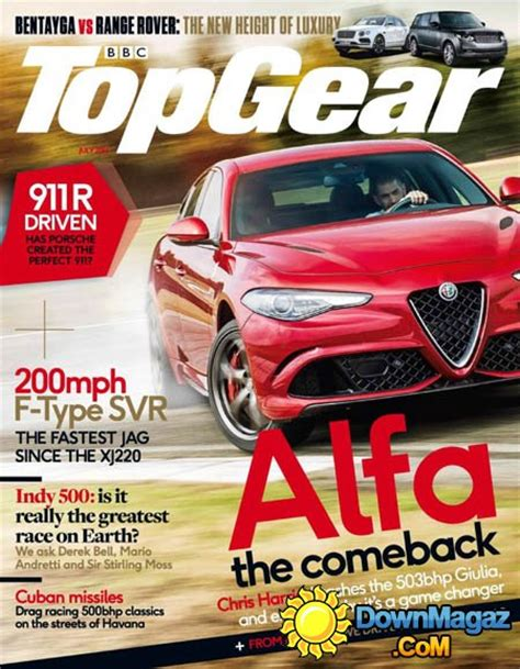 top gear uk 2016 top gear uk july 2016 187 pdf magazines magazines commumity