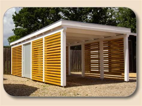 Carport Holz Modern by Carport Holz Bausatz Nach Ma 223 Holzon De Kaufen