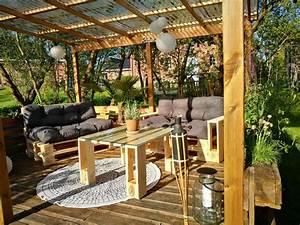 Lounge Aus Paletten : paletten lounge bauen kaufen palettenlounge m bel shop ~ Frokenaadalensverden.com Haus und Dekorationen