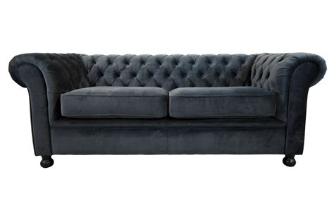 canapes chesterfield canape chesterfield tissu