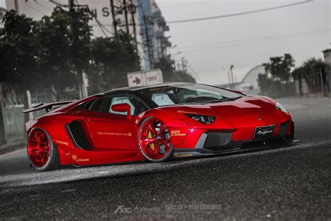 The Bloody Red Liberty Walk Lamborghini Aventador In 11
